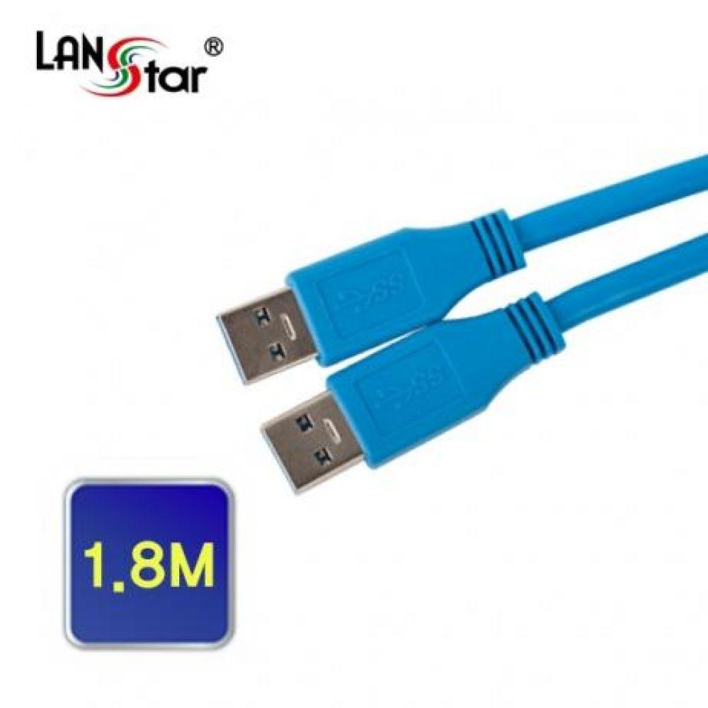 USB 3.0 케이블 AM-AM 1.8M 컴퓨터용품 PC용품 컴퓨터악세사리 컴퓨터주변용품 네트워크용품