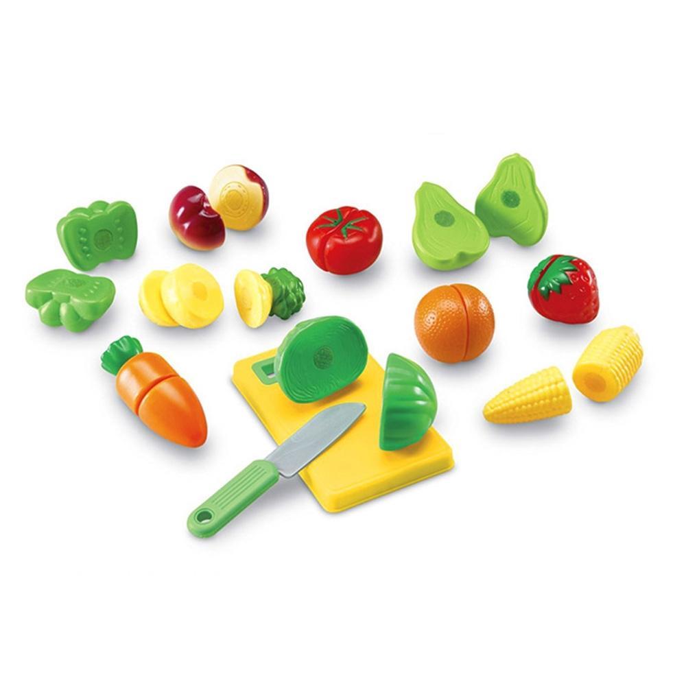 선물 어린이 아이 과학 학습 교구 과일 야채 슬라이스 유아원 장난감 학습교구 교구 놀이교구