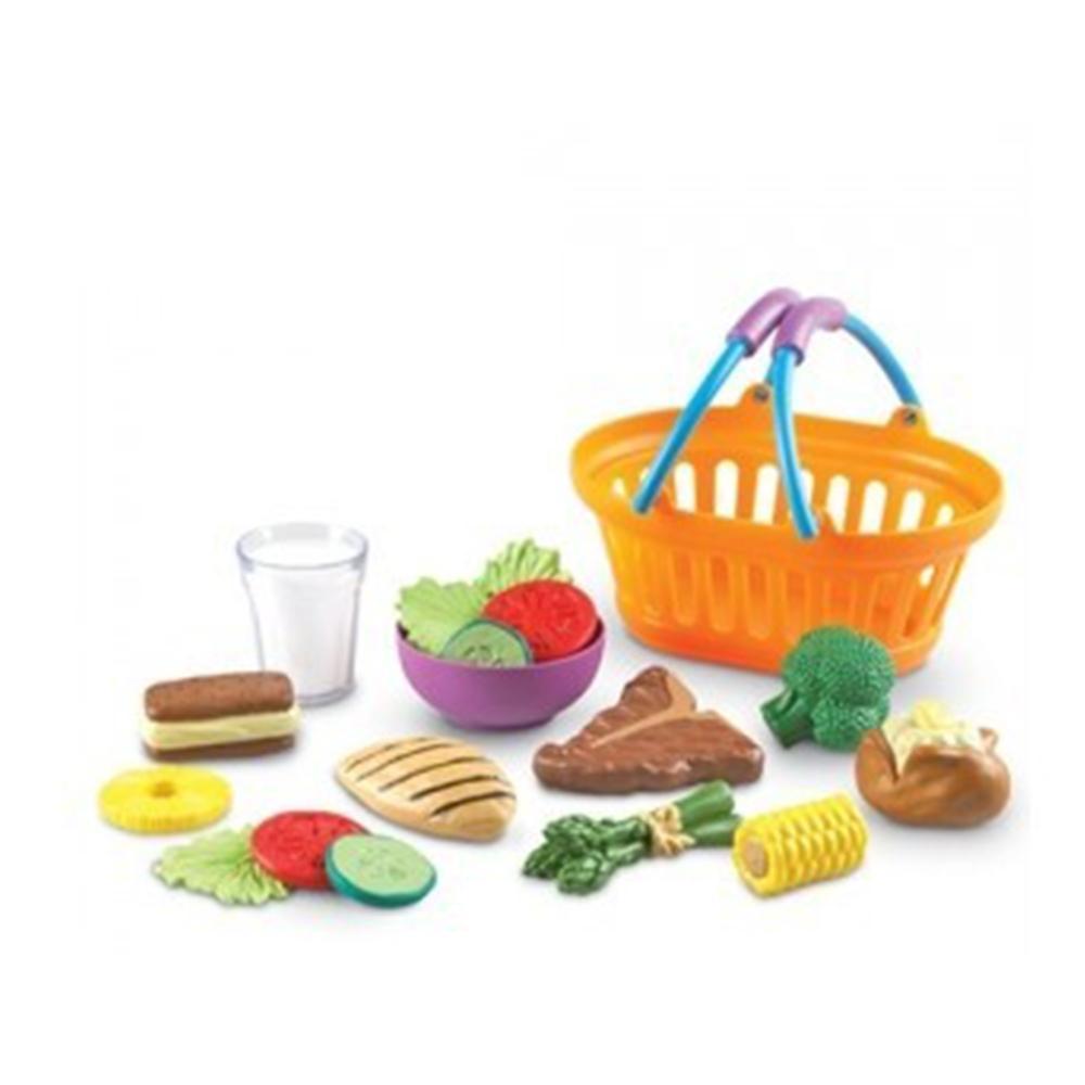 어린이날 유아 소꿉 놀이 장난감 저녁 식사 바구니 완구 어린이집 유아원 초등학교 장난감