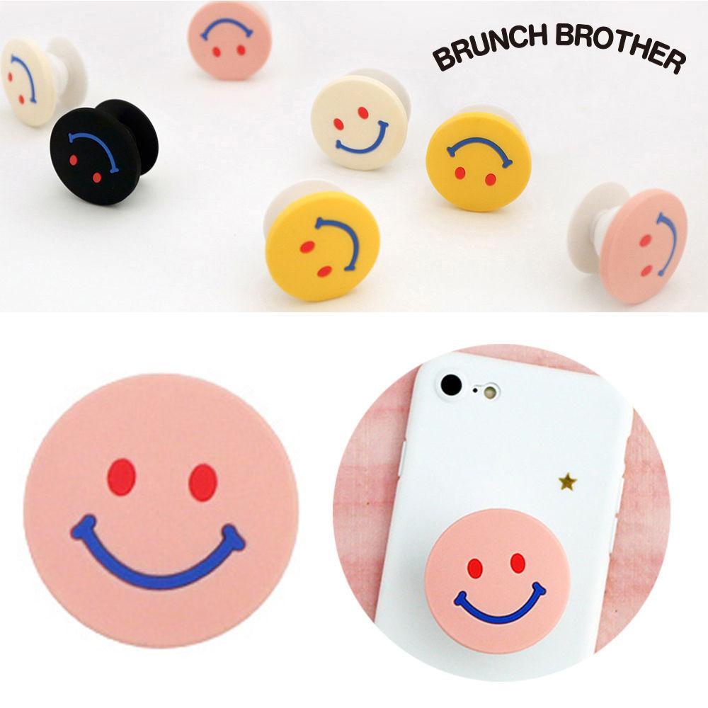 로마네 브런치브라더 스마트톡 (핑크) 핸드폰 고리 휴대폰 스마트폰 부착고리