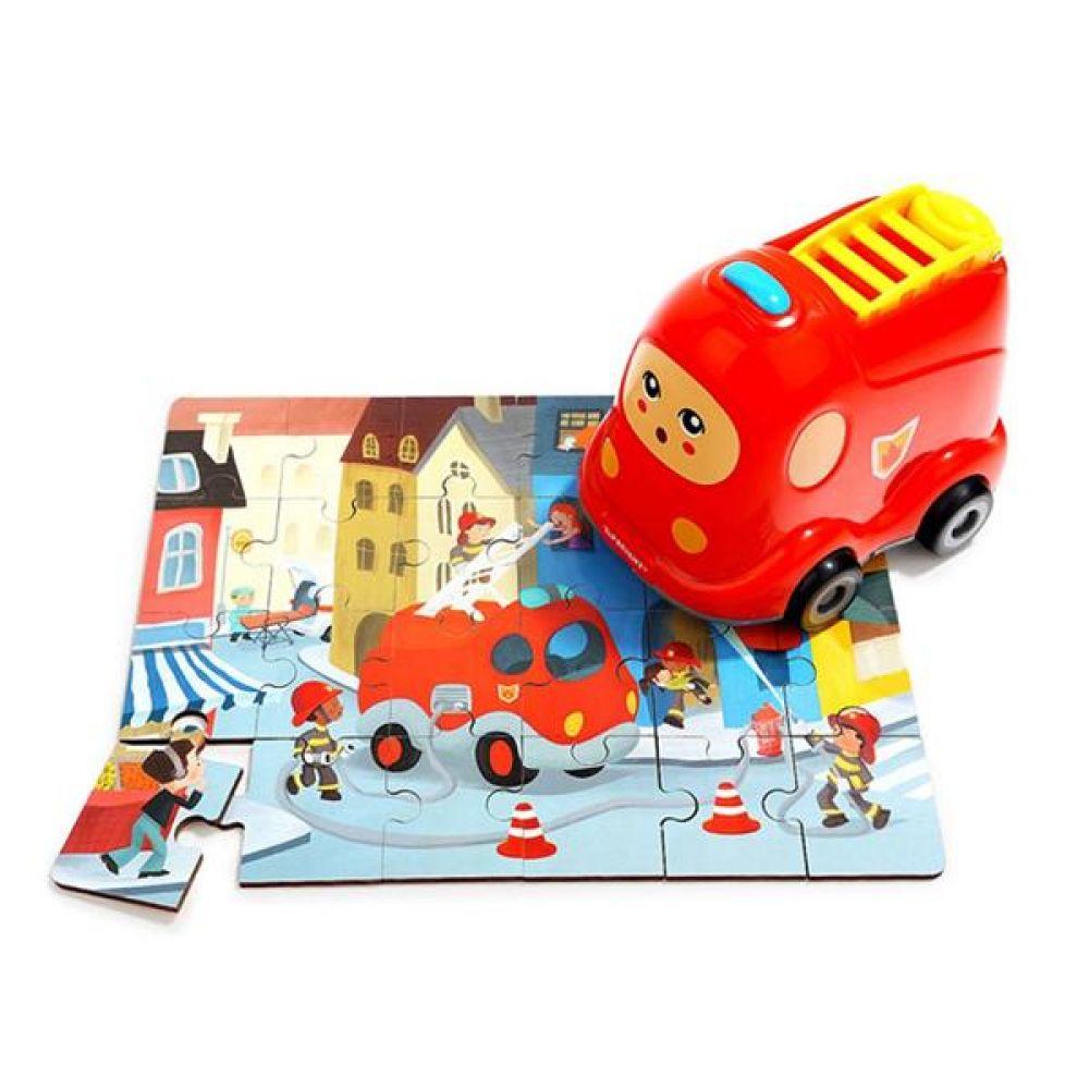 탑브라이트 퍼즐 인 미니카 어린이 퍼즐놀이 유아퍼즐 판퍼즐 아동퍼즐 퍼즐맞추기 어린이퍼즐