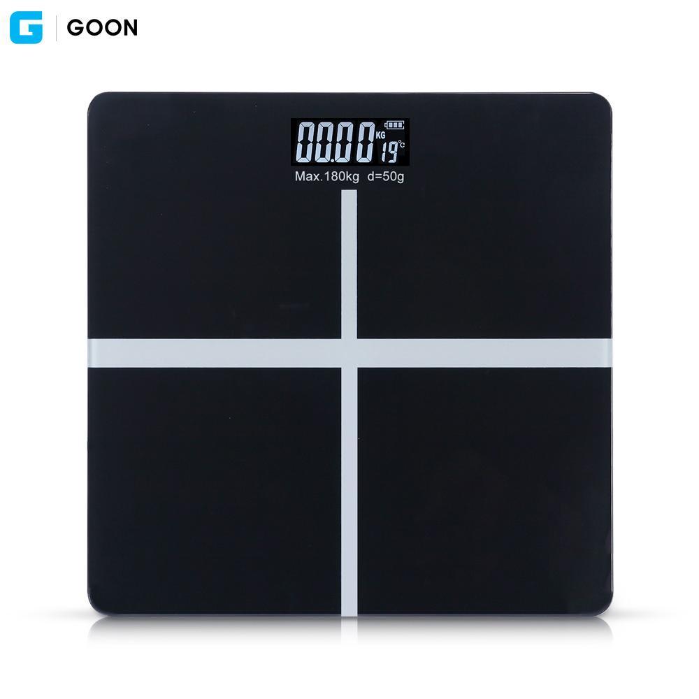 GOON 디지털 체중계 (블랙) 디지털체중계 체중계 몸무게 체중 저울