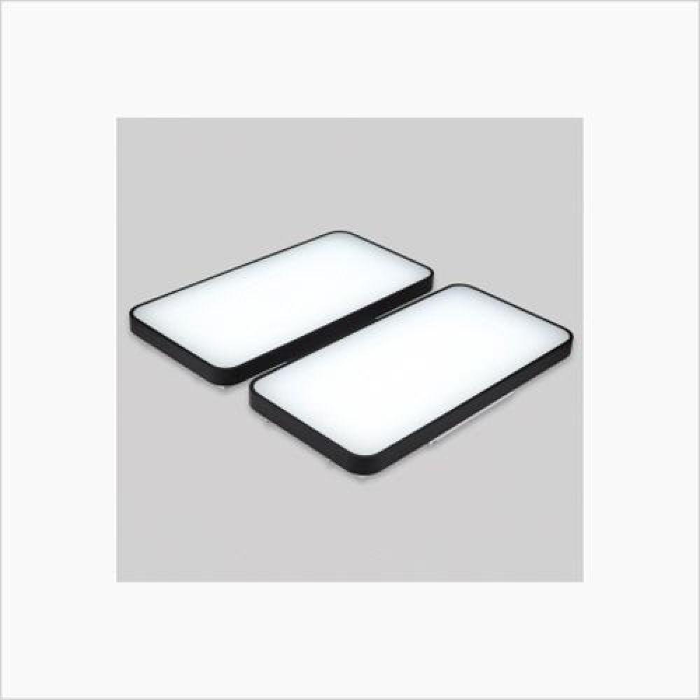 인테리어 홈조명 마빈블랙 4등 LED거실등 100W 인테리어조명 무드등 백열등 방등 거실등 침실등 주방등 욕실등 LED등 평면등
