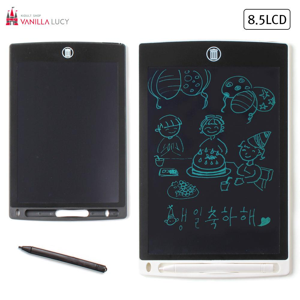 블랙보드 8.5in LCD 랜덤1개 전자칠판 보드판 그림판 보드판 그림판 미술놀이 보드 학습