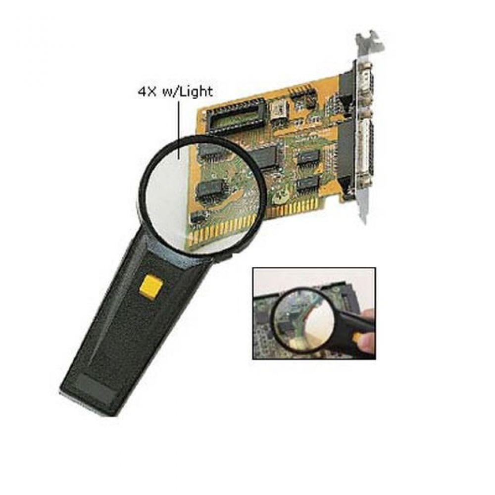 Prokit 조명식 4배율확대경 라이트루페 컴퓨터용품 PC용품 컴퓨터악세사리 컴퓨터주변용품 네트워크용품 계측기 온도측정기 수평기 온도계 기압계 신장측정기 수광기 조도계 산소측정기 표면조도측정기