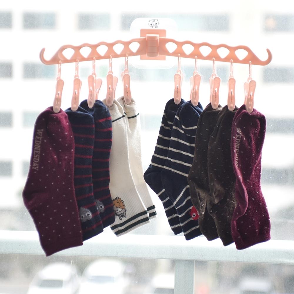 득템상회 양말 접이식 빨래 걸이 (핑크) 양말건조대 속옷건조대 양말걸이 빨래걸이 접이식빨래건조대 소형빨래 건조대 빨래건조대 양말건조대 빨래걸이 양말걸이