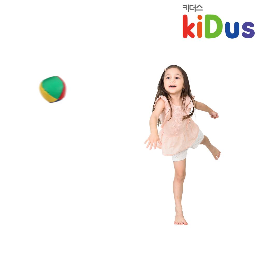키더스 PU 소프트 볼 유아체육 학교 유치원 어린이집 오재미 고무공 피칭 슈팅 야구 콩주머니