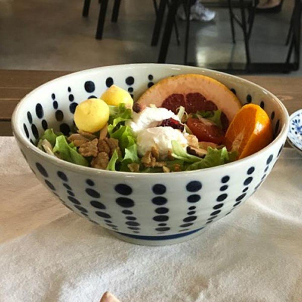 텐몬면기 2P 그릇 주방용품 밥그릇 예쁜그릇 주방용품 그릇 밥그릇 면기 예쁜그릇