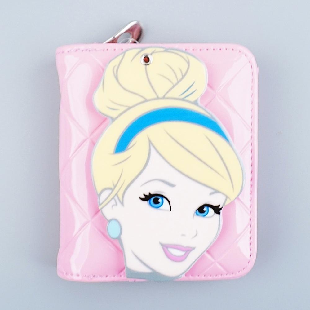 (디즈니) 에나멜 거울 지갑 (신데렐라)(003419) 잡화 생활잡화 캐릭터 캐릭터상품 생활용품