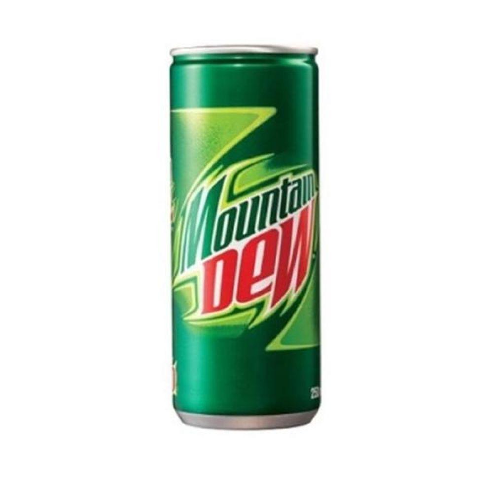칠성) 마운틴듀 250ml x 30캔 믿을 수 있는 정품 정량 음료 음료수 음료수도매 사이다 탄산음료