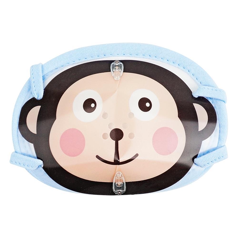 원숭이 입체 순면마스크 (아동방한대)(동물) 잡화 생활잡화 캐릭터 캐릭터상품 생활용품
