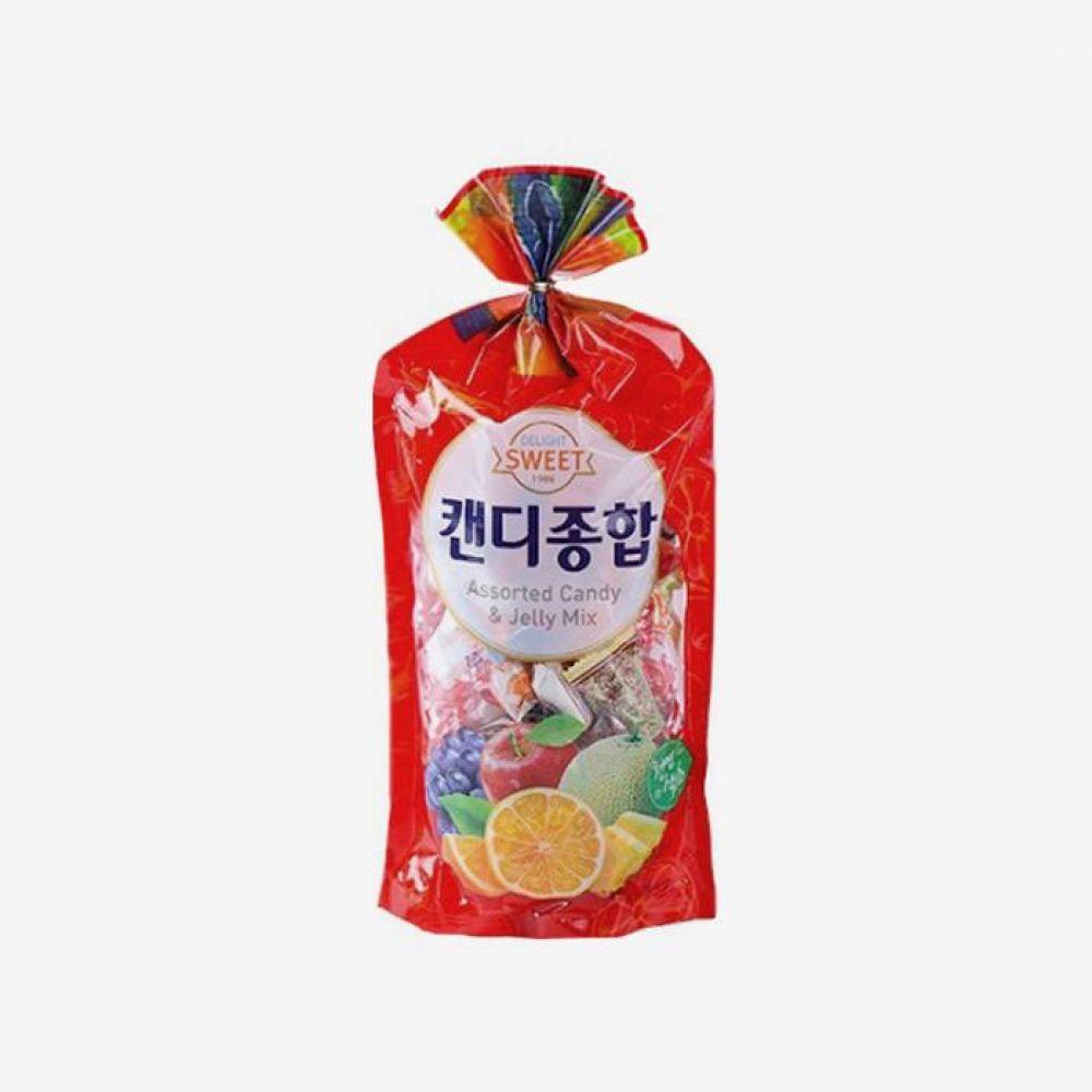 청우 캔디 종합 600g 1박스 청우식품 간식 주전부리 스낵 과자 캔디 사탕