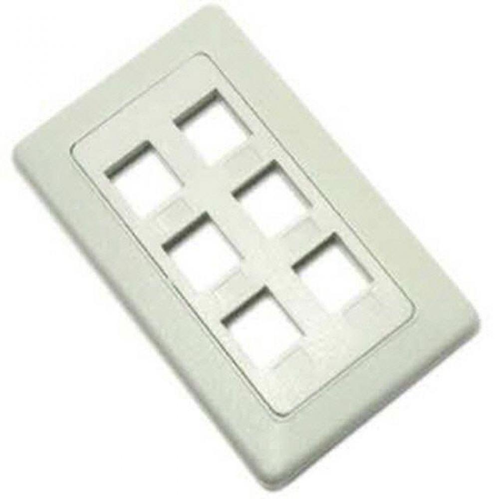 PCD N0532 컴스 벽부착형 Plate 6포트 컴퓨터용품 PC용품 컴퓨터악세사리 컴퓨터주변용품 네트워크용품 무선공유기 iptime 와이파이공유기 iptime공유기 유선공유기 인터넷공유기
