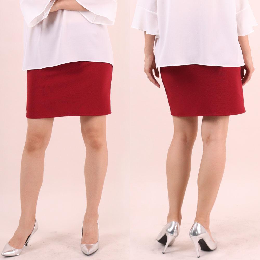 미시옷 6535L910 골지 스판 스커트 WW 빅사이즈 여성의류 빅사이즈 여성의류 미시옷 임부복 골지밴드스판스커트