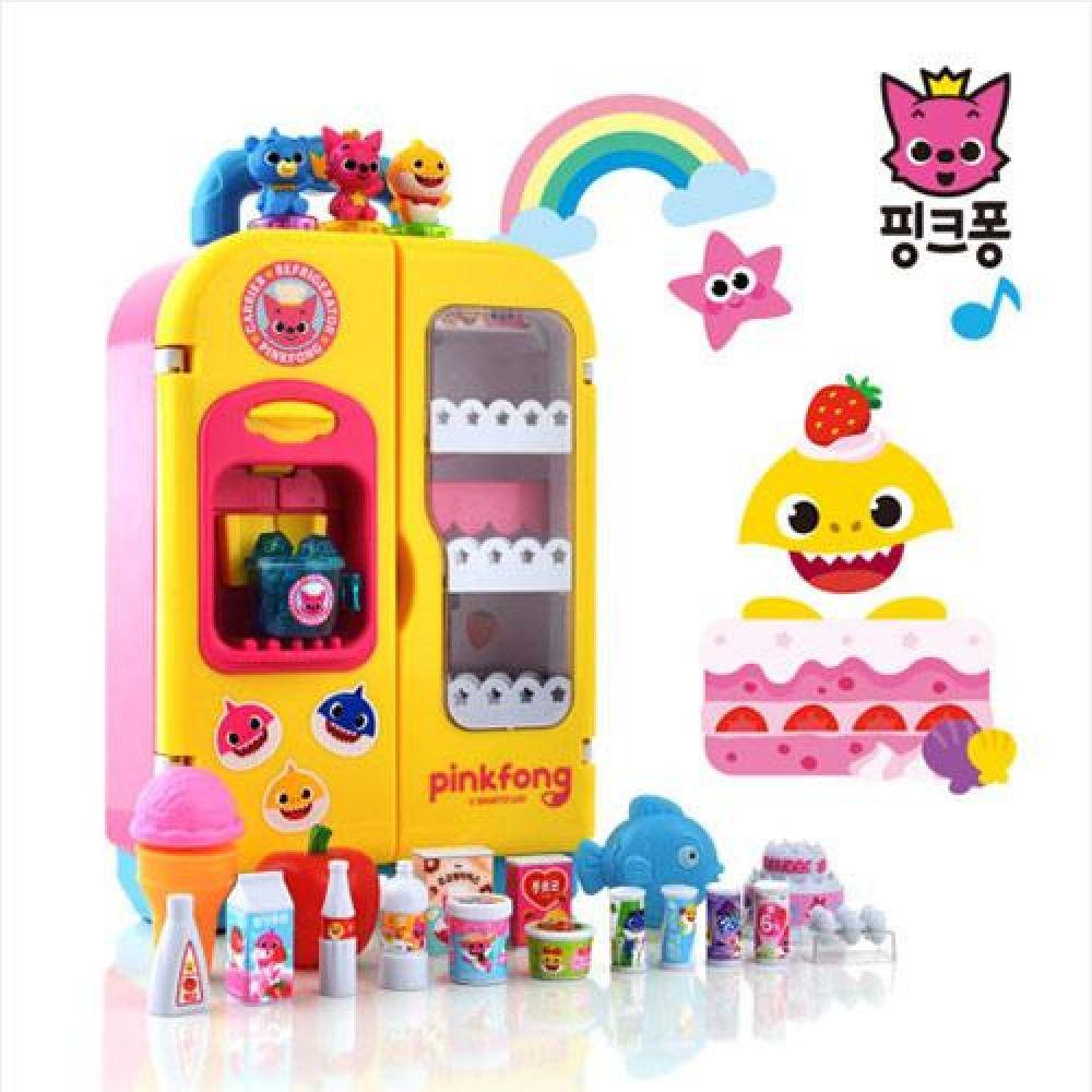 아이플러스 핑크퐁 아기상어 냉장고(90465) 장난감 완구 토이 남아 여아 유아 선물 어린이집 유치원