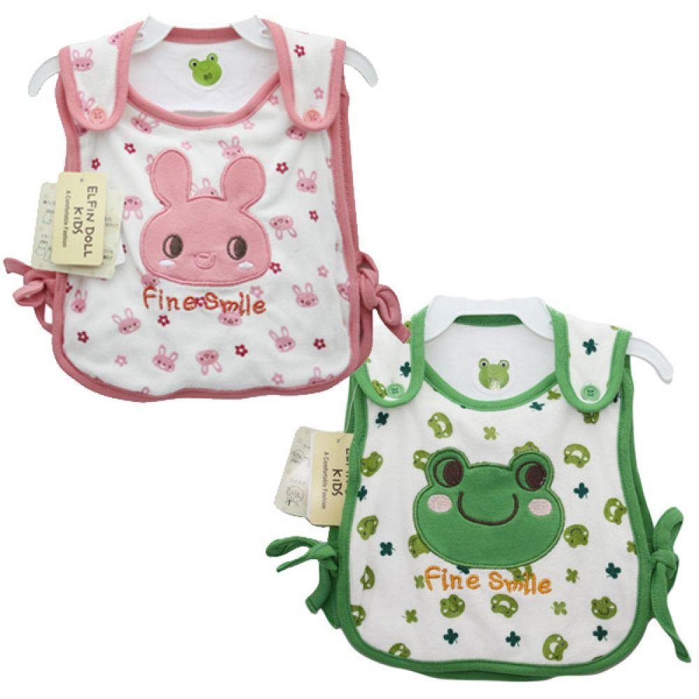 귀여운동물캐릭터 수면조끼(0-12개월)203325 수면조끼 유아조끼 배앓이방지 유아옷 슬리핑조끼 아기옷 출산선물