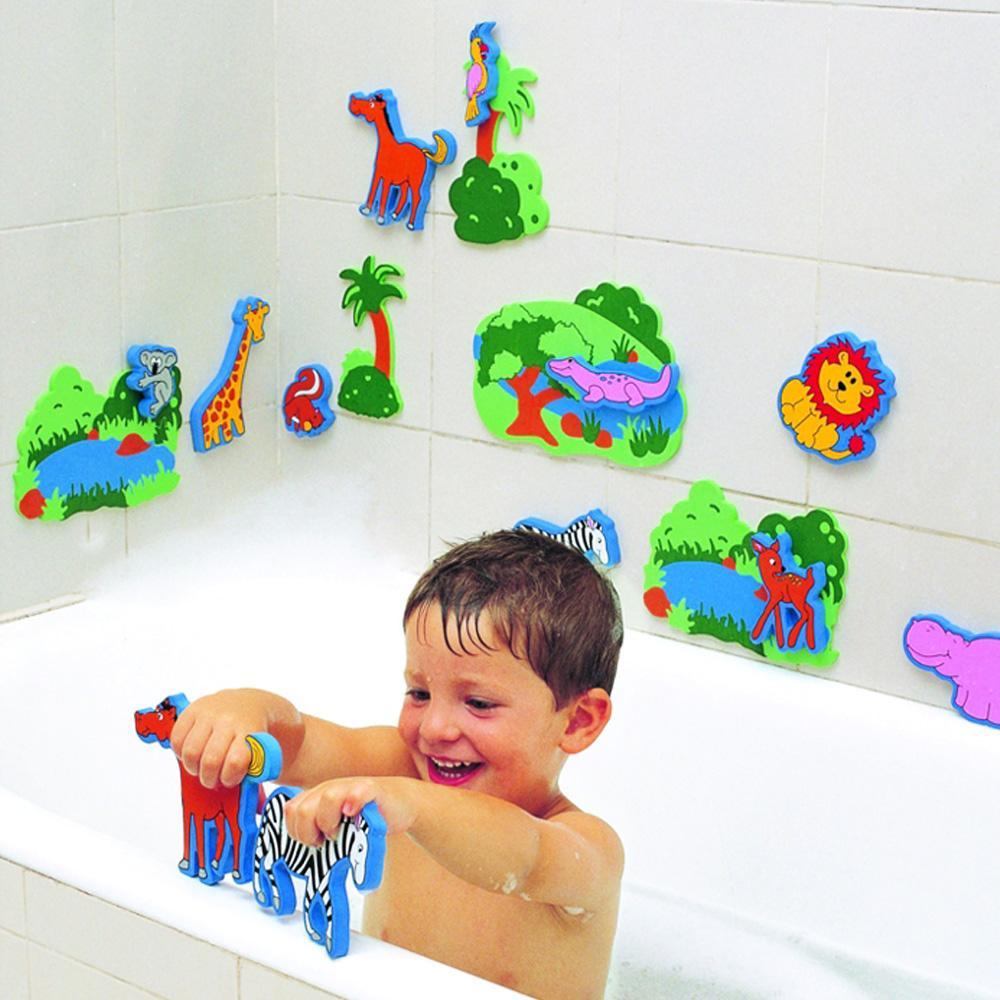 완구 유아 어린이 목욕 놀이 정글펀 17P 아이 장난감 완구 어린이집 유아원 초등학교 장난감