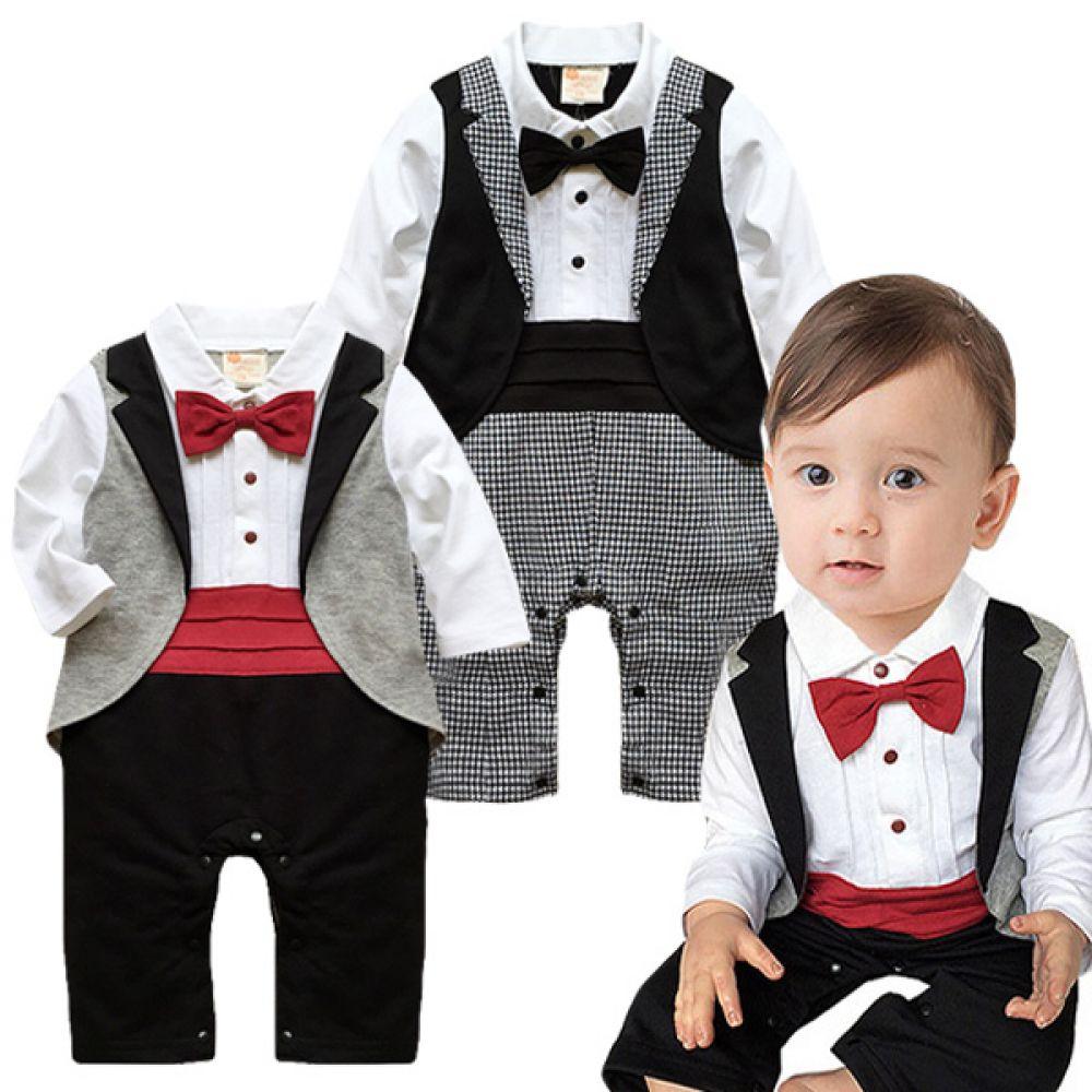 베토벤 클래식 정장 우주복(6-24개월) 300207 아기우주복 롬퍼 룸퍼 바디슈트 백일복 아기옷 유아옷 신생아옷 유아복 돌복 아기정장 아기턱시도