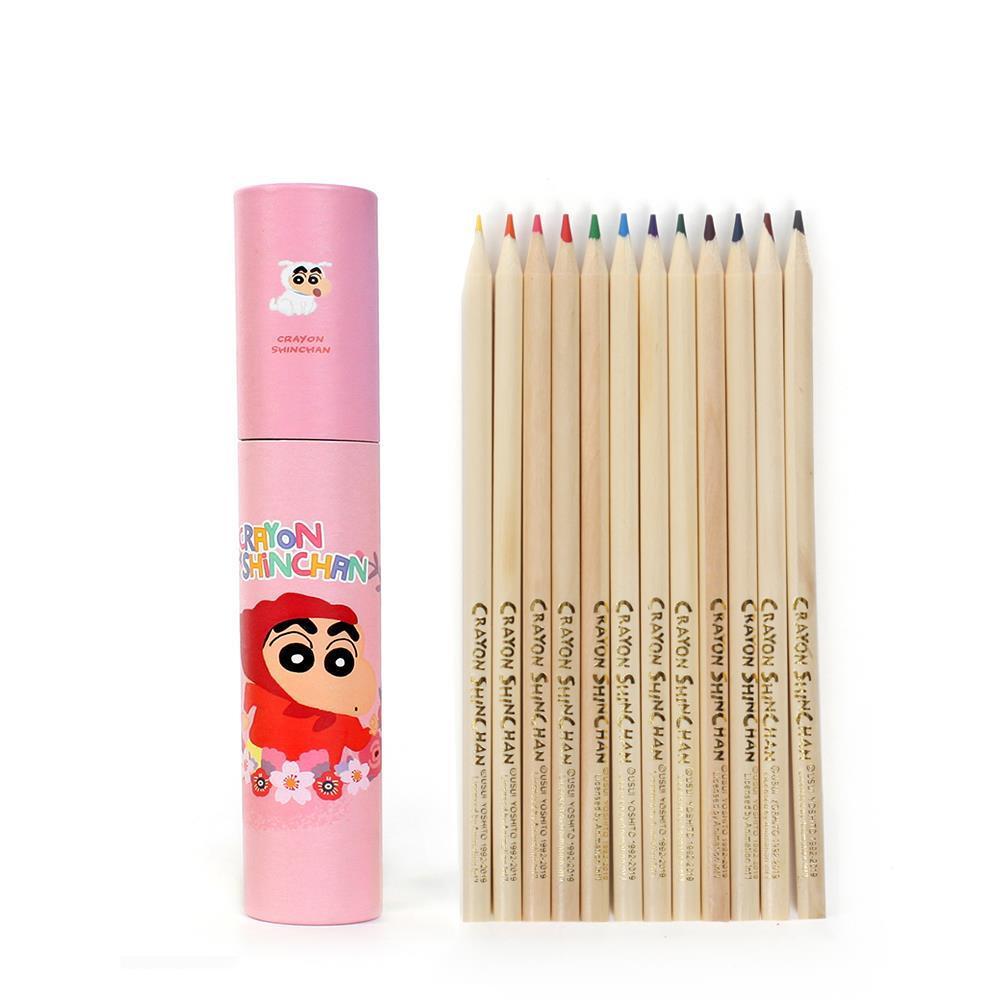 12색 색연필세트 원목 컬러링색연필 미술용품 미술용품 원목색연필 크레파스 어린이색연필 색연필