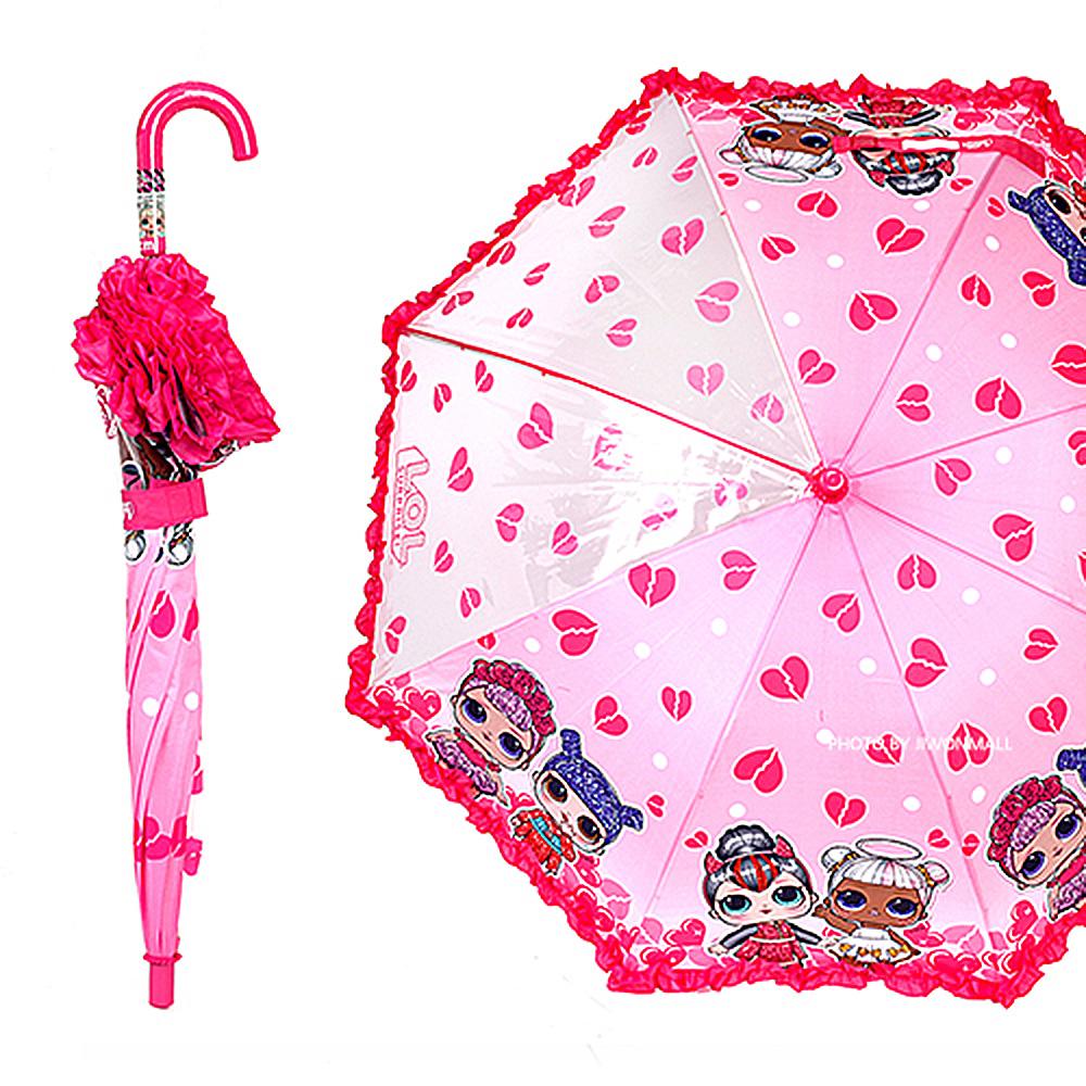 LOL 하트 우산 53 우산 유아우산 아기우산 아동우산 어린이우산 초등학생우산 캐릭터우산 캐릭터장우산 자동우산 3단자동우산 3단우산 투명우산 유아투명우산 어린이투명우산 장마 헬로키티 키티 헬로키티우산 키티우산 입체우산