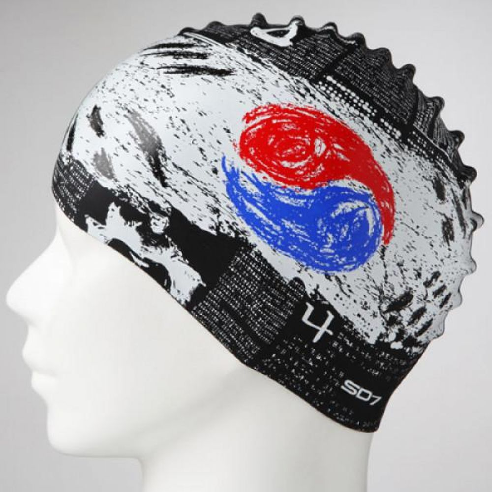 SGL-CA221 한국신문 SD7 실리콘수모 실리콘수모 수영모자 수영용품 수영모 수영수모