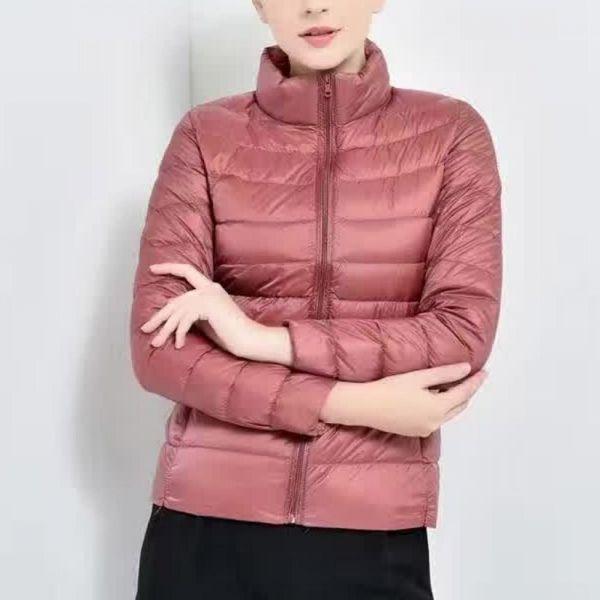 미시옷 0569RL812 경량 오리털 패딩자켓 CE 빅사이즈 여성의류 빅사이즈 여성의류 미시옷 임부복 라이트오리털자켓