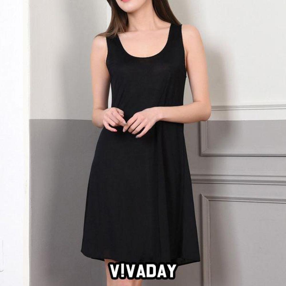 VIVADAY-SC319 롱 런닝원피스 팬티 속바지 트렁크 속치마 속옷 여성속옷 남성속옷 런닝 나시 반팔