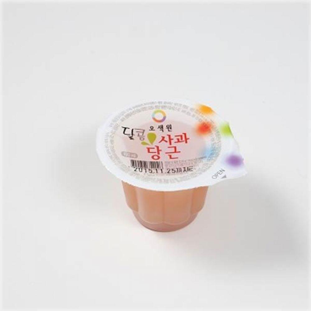 오색원 달콤 사과당근 100ml(1box)_후식용 소용량 음료 급식 전통 주스 후식