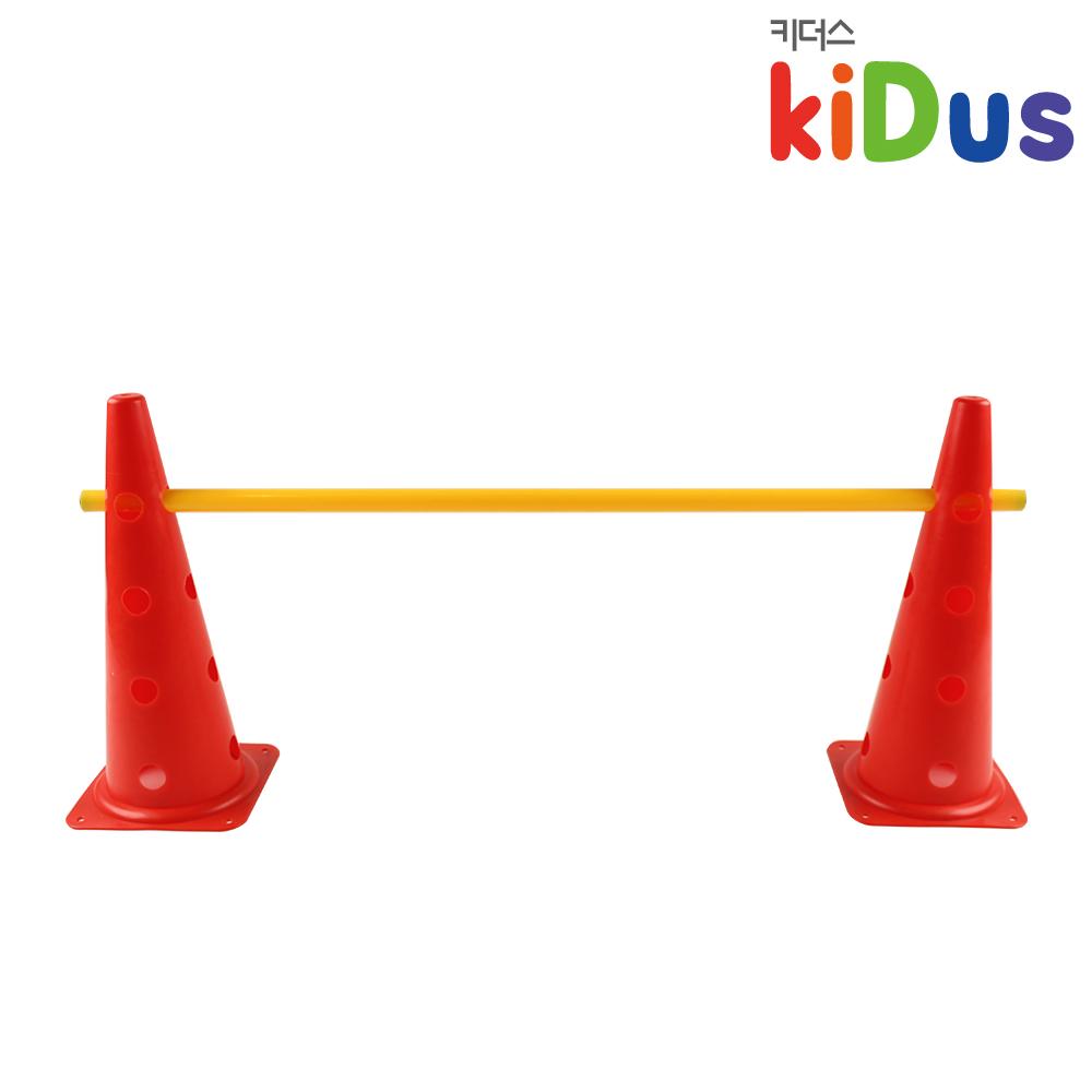 키더스 허들콘 시스템 48cm(낱개) 유아체육 학교 유치원 어린이집 축구 접시콘 칼라콘 라바콘 꼬깔콘 안전용품