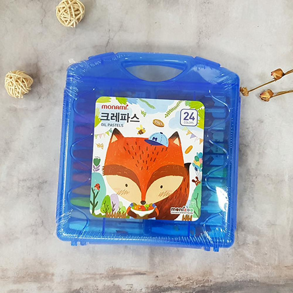 24색 하늘다람쥐 크레파스 학용품 문구용품 크레용 문구용품 미술도구 색칠공부 크레파스 미술용품