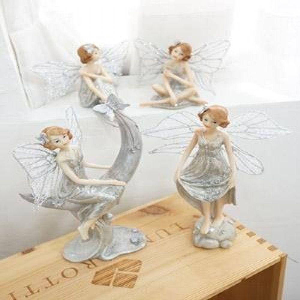 반짝이 엘프 요정 천사 마블소품 인테리어소품 인테리어장식품 요정장식품 천사장식품