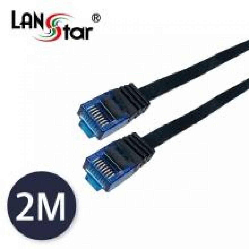 UTP 평면 랜 블루콘넥터 CAT.7 블랙 2M 컴퓨터용품 PC용품 컴퓨터악세사리 컴퓨터주변용품 네트워크용품 UTP 평면 랜 CAT7 LAN 랜레이블
