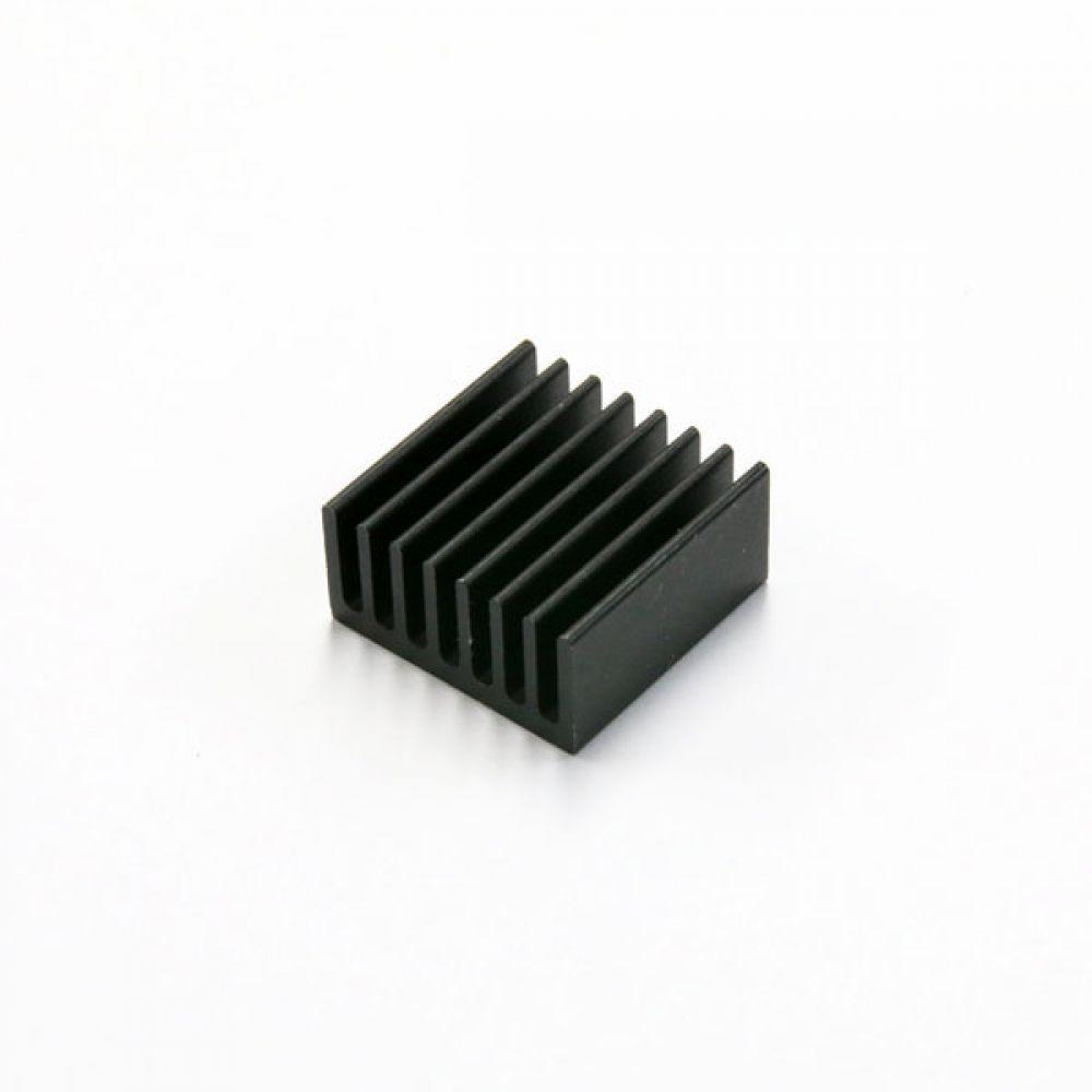 소형 알루미늄 칼라 방열판 히트싱크 20x20x10mm 블랙 5개 히트싱크 방열판 칼라방열판 다용도 칼라히트싱크 알루미늄방열판 히트싱크 쿨러