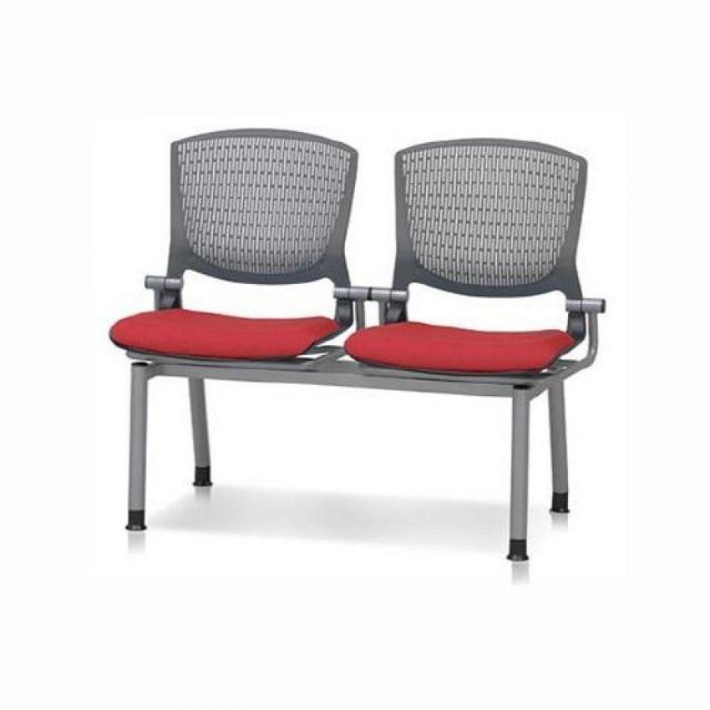 2인용 연결의자 팔무(사출-쿠션) 622 로비의자 휴게실의자 대기실의자 장의자 3인용의자 2인용의자 약국의자 대합실의자