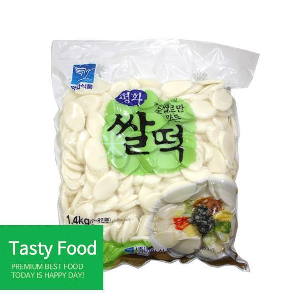 (냉장)평화 쌀떡1.4kgX10개 분식 평화식품 쌀떡 식자재 식품