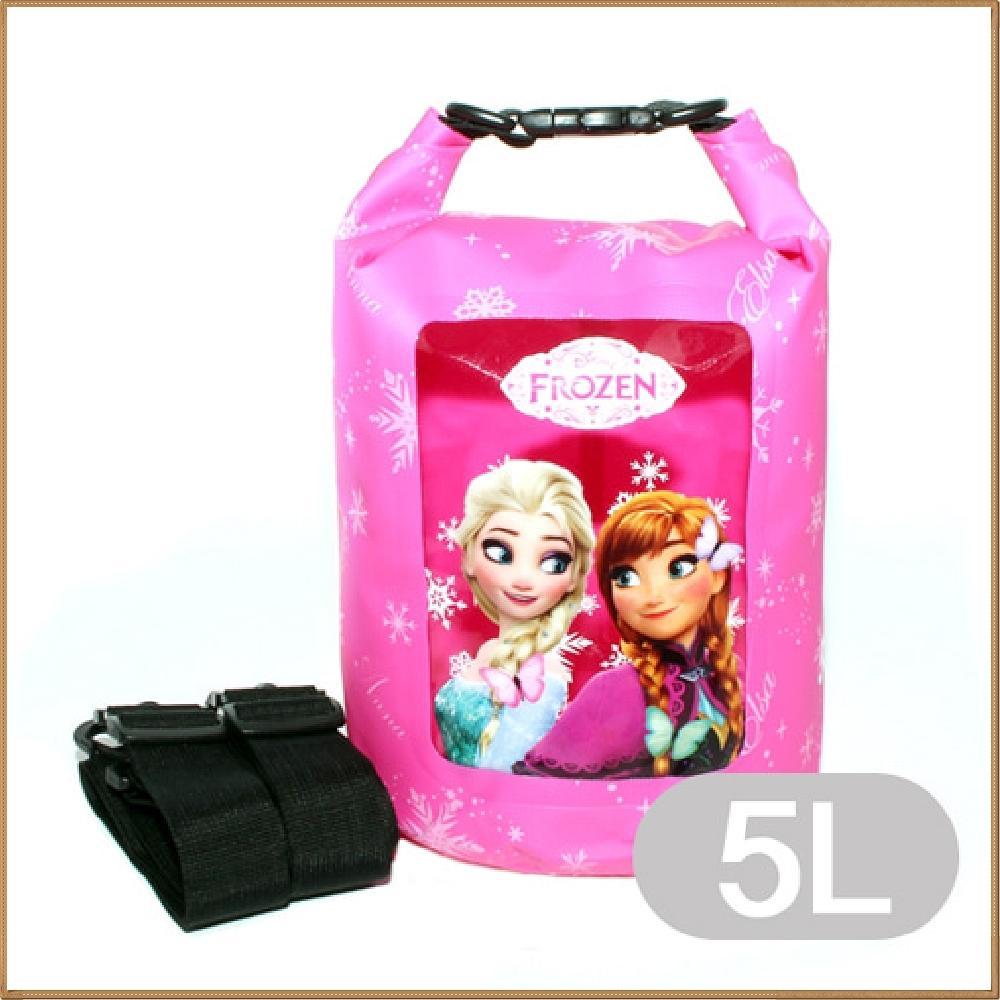 겨울왕국 드라이백팩 - 5L (핑크) 캐릭터 캐릭터상품 생활잡화 캐릭터제품 잡화