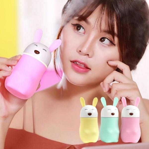 무드등 겸용 USB 토끼 미니가습기