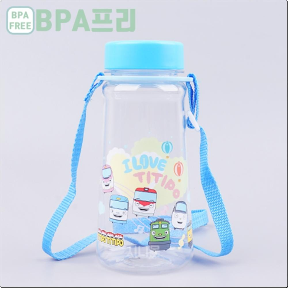 띠띠뽀띠띠뽀 트라이탄 어깨끈물통 450ml (보틀) 캐릭터 캐릭터상품 생활잡화 잡화 유아용품