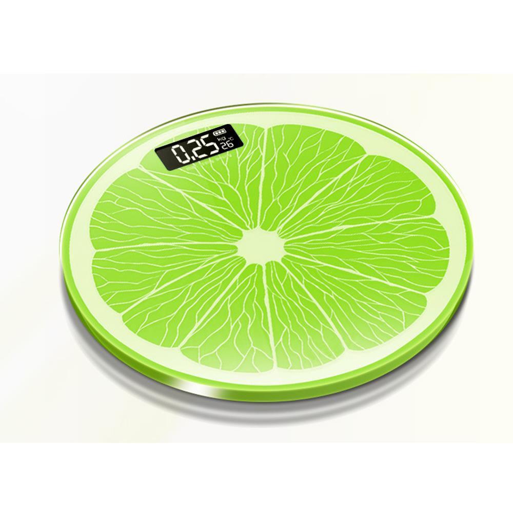 원형 레몬 전자체중계 디지털체중계 체중측정계 사각체중계 체중측정계 디지털체중계 다이어트용품 건강용품