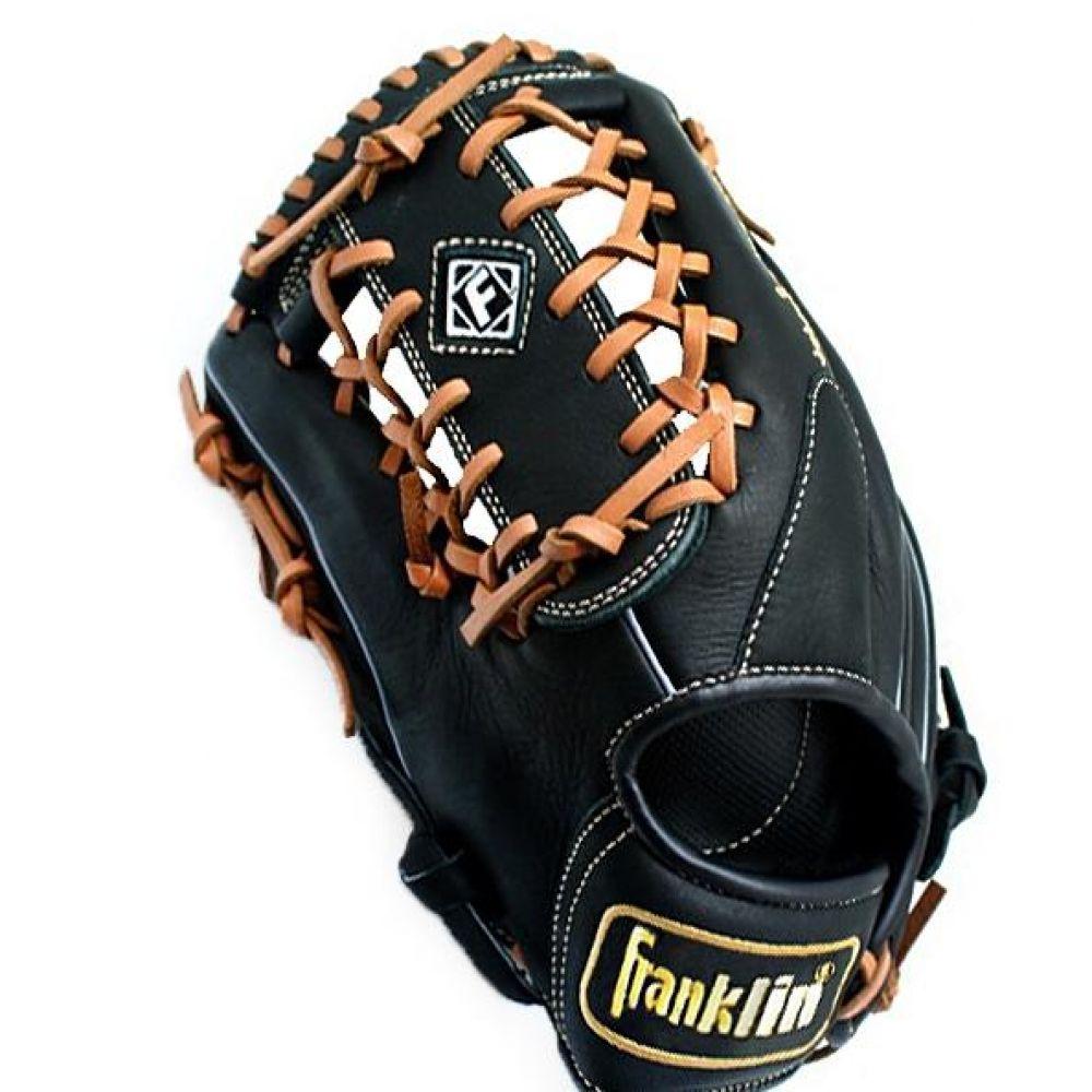 좌투용 프랭클린 올라운드 투수글러브 블랙 800g 야구용품 야구글러브 투수글러브 우완투수글러브 가죽글러브 좌투수글러브 프랭클린야구글러브