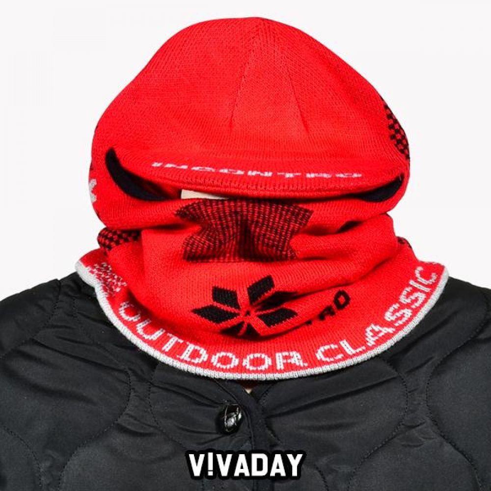 VIVADAY-SC174 이중원단 넥워머 넥워머 후드넥워머 극세사넥워머 워머 겨울 겨울워머 겨울넥워머