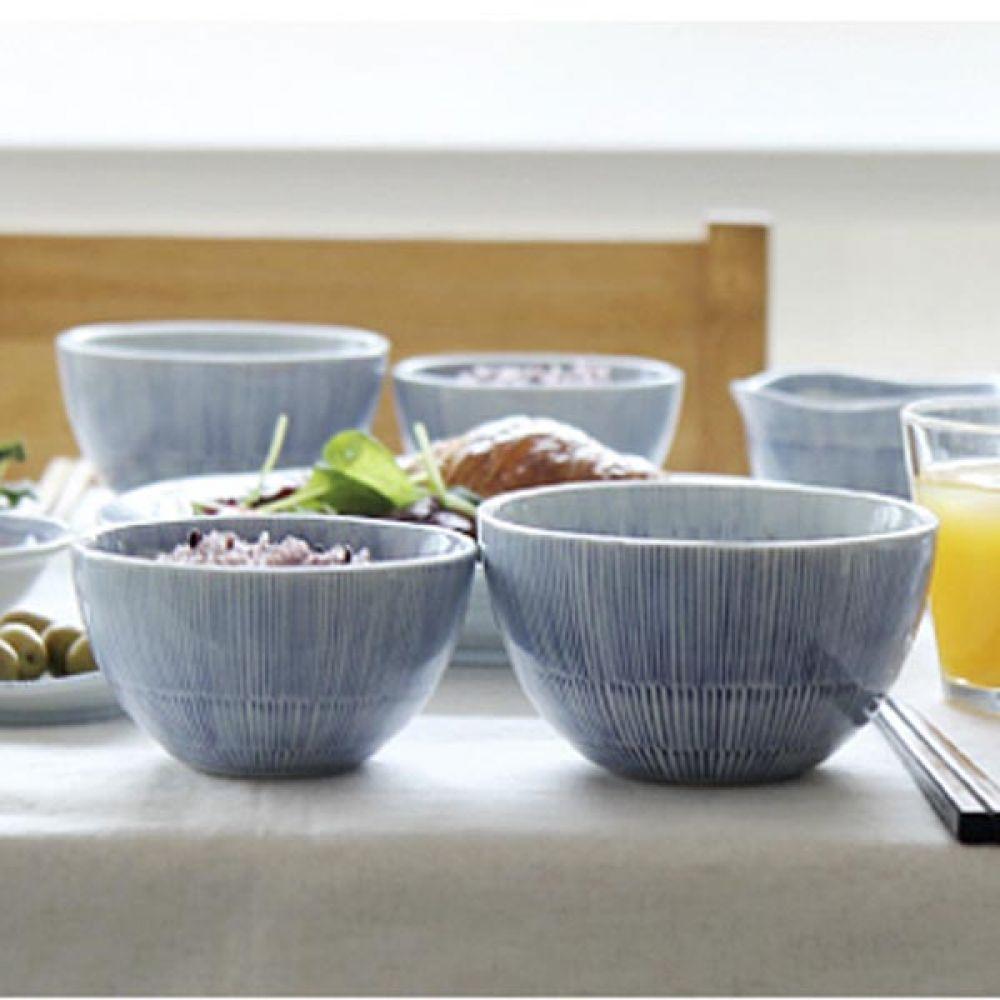 쿄토쿠사 공기 5P 밥그릇 그릇 예쁜그릇 주방용품 그릇 밥그릇 예쁜그릇 주방용품 공기