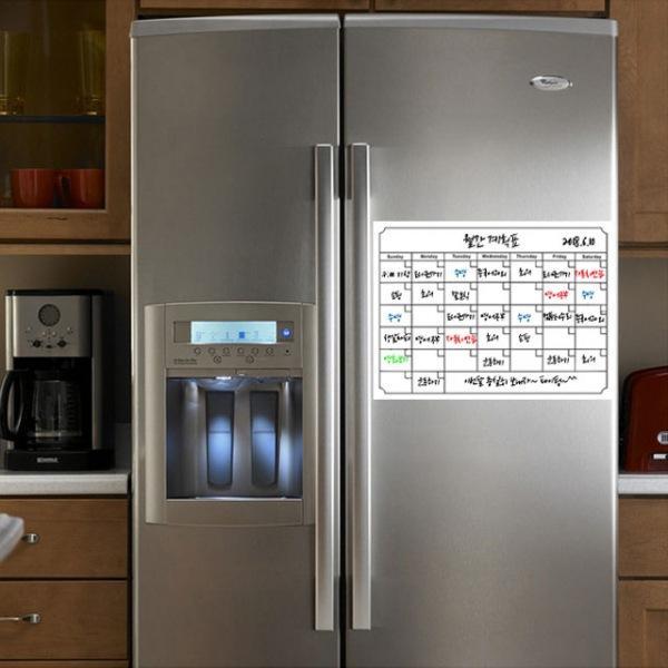 냉장고 스케줄보드 달력보드