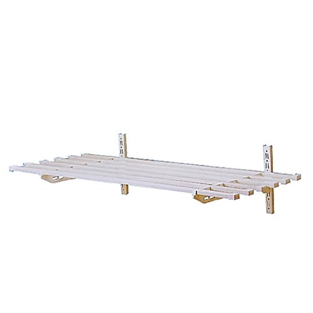 부착 다용도 베란다 사각 선반 1.2M 다용도실 벽면 철물점 베란다선반 선반 다용도실선반 다용도선반