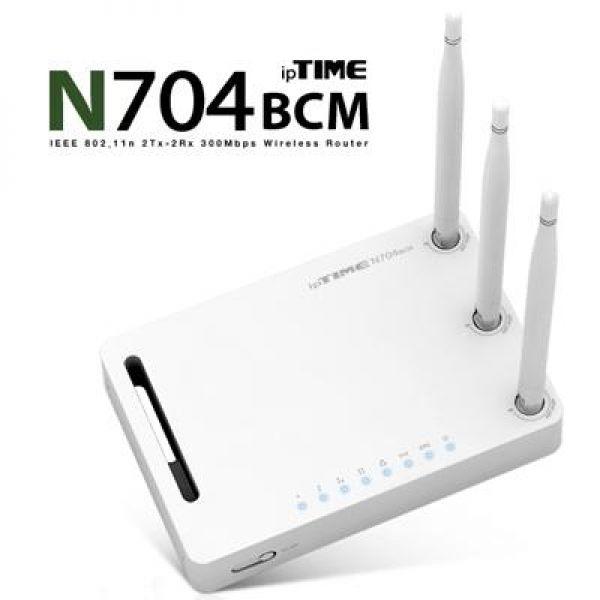 N704BCM 유무선IP공유기 컴퓨터용품 컴퓨터주변기기 공유기 유무선공유기 와이파이