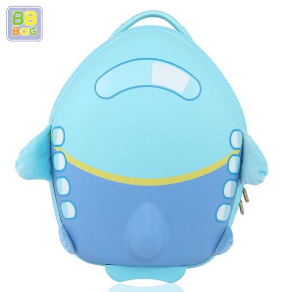 캐리어 비행기 파랑색 비비백 캐릭터가방 윌리엄가방 생일선물 유치원 유아가방 아동가방 백팩 미아방지용 캐리어
