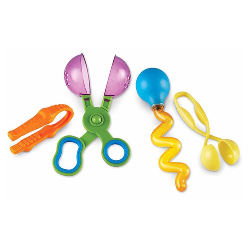 선물 어린이 아이 과학 학습 교구 소근육발달집게 4종 유아원 장난감 학습교구 교구 놀이교구