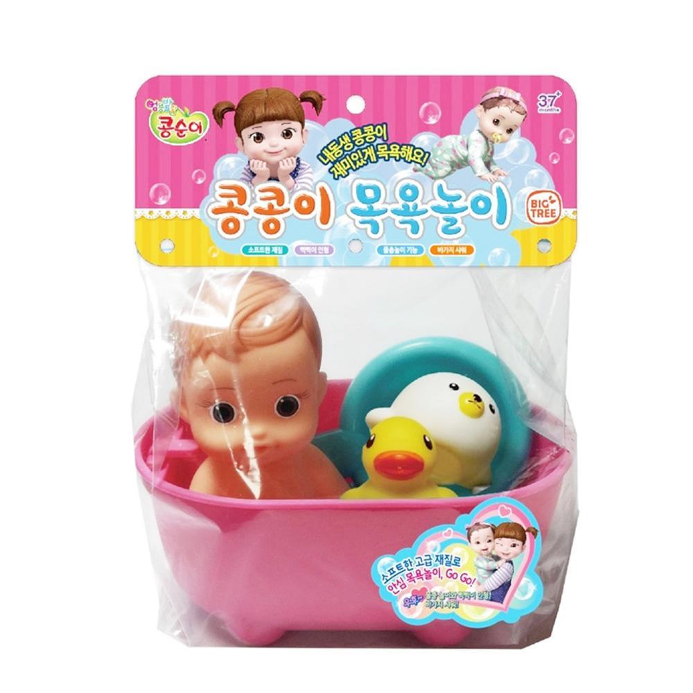 장난감 콩순이 동생 콩콩이 목욕 놀이 어린이날 선물 완구 어린이집 유아원 초등학교 장난감