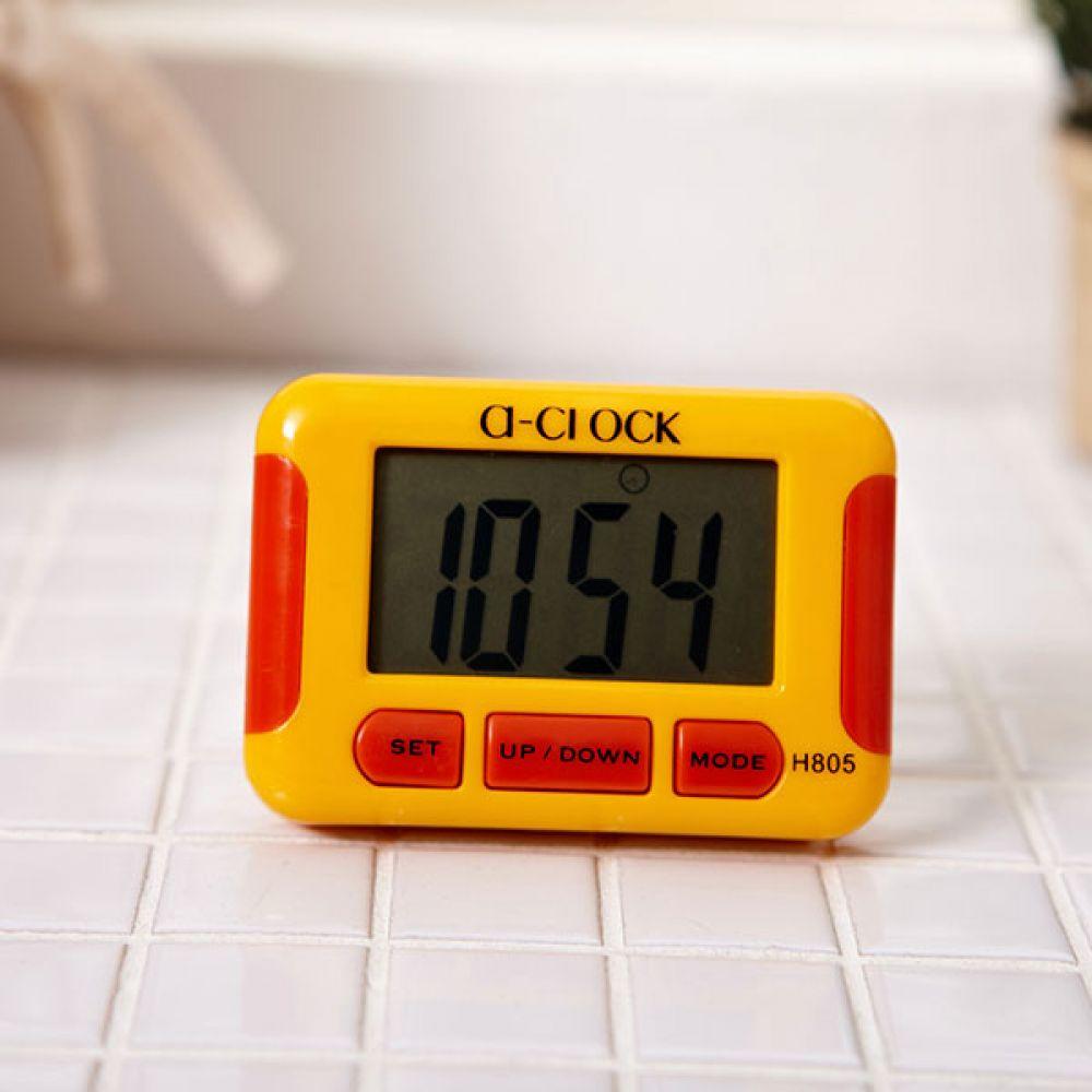 자석 타이머시계 색상랜덤 주방타이머 쿠킹타이머 스터디워치 타임워치 스터디타이머 알람시계 측정용품