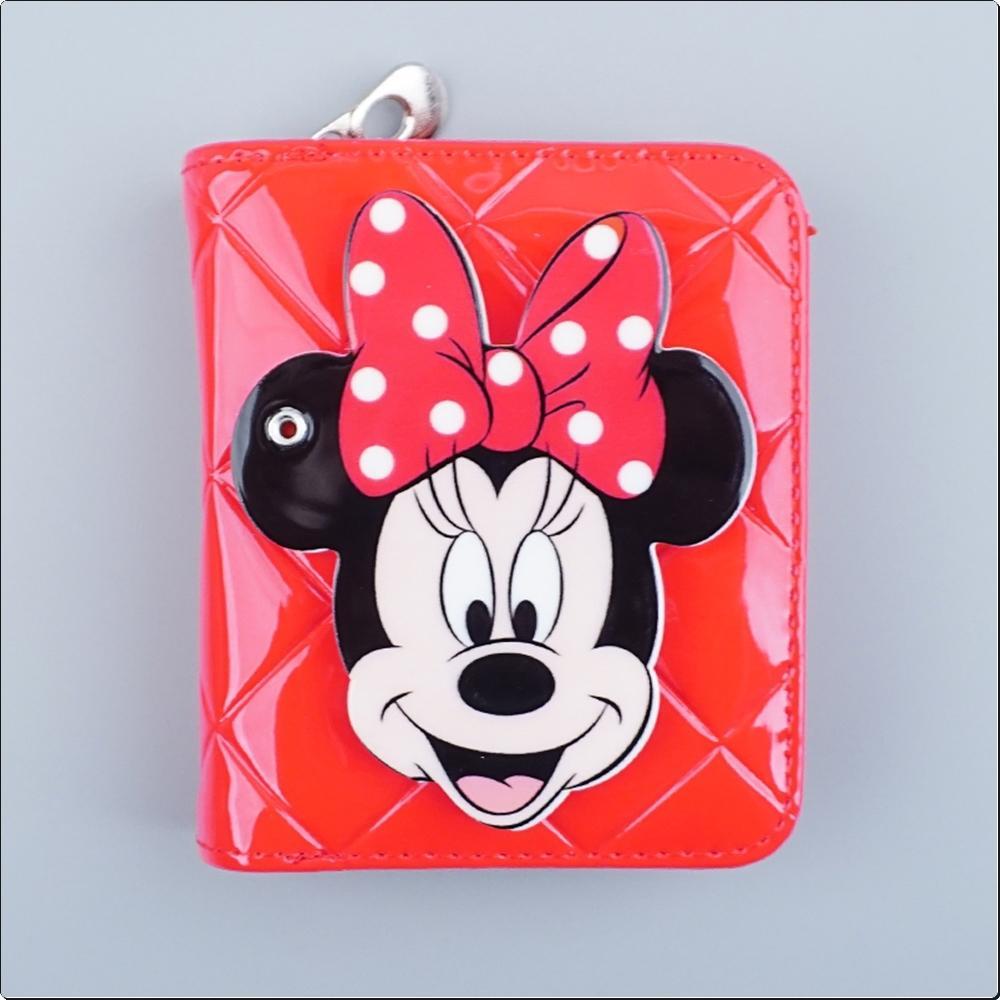 (디즈니) 에나멜 거울 지갑 (미니)(003419) 캐릭터 캐릭터상품 생활잡화 잡화 유아용품